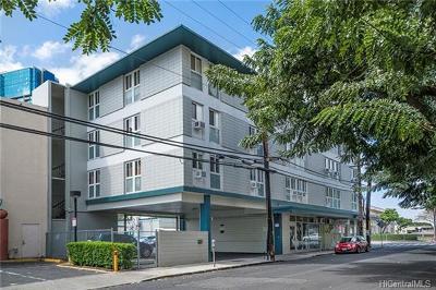 Honolulu Multi Family Home In Escrow Showing: 1381 Queen Emma Street
