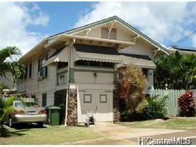 Single Family Home For Sale: 3410 Pahoa Avenue