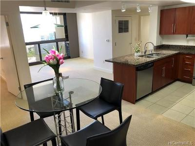 Central Oahu, Diamond Head, Ewa Plain, Hawaii Kai, Honolulu County, Kailua, Kaneohe, Leeward Coast, Makakilo, Metro Oahu, N. Kona, North Shore, Pearl City, Waipahu Condo/Townhouse For Sale: 600 Queen Street #2203