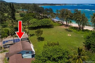 Laie Single Family Home For Sale: 55-7 Kamehameha Highway #A