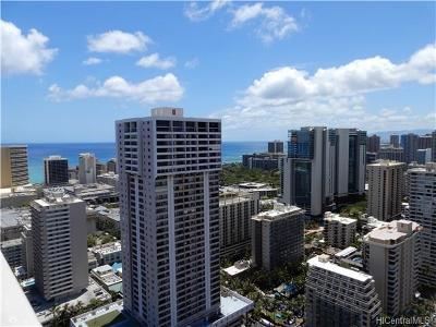 Hawaii County, Honolulu County Condo/Townhouse For Sale: 445 Seaside Avenue #4112