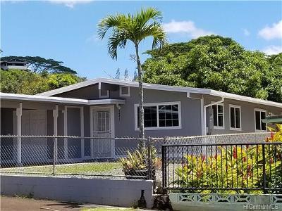 Pearl City Single Family Home For Sale: 2443 Aumakua Street