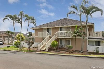 Waipahu Condo/Townhouse For Sale: 94-109 Wali Place #F204
