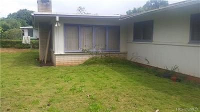 Wahiawa Single Family Home For Sale: 5 Auhili Place