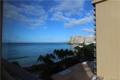 Hawaii County, Honolulu County Condo/Townhouse For Sale: 2500 Kalakaua Avenue #903
