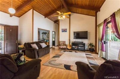 Kailua Single Family Home For Sale: 73-1288 Kaiminani Drive