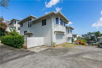 Honolulu County Condo/Townhouse For Sale: 960 Prospect Street #9