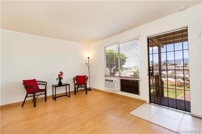 Pearl City Condo/Townhouse In Escrow Showing: 98-537d Kamahao Place #42
