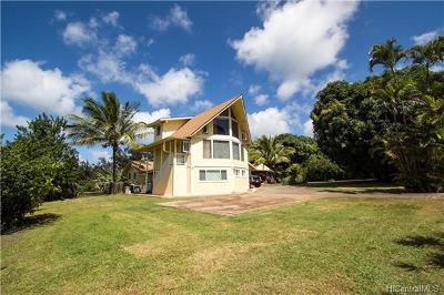 Single Family Home For Sale: 59-312 Pupukea Road
