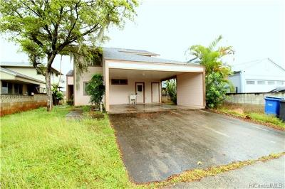 Mililani Single Family Home In Escrow Showing: 95-675 Lauawa Street