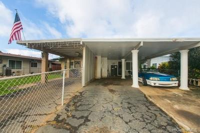 Waianae Single Family Home In Escrow Showing: 84-665 Manuku Street