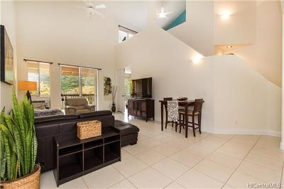 Mililani Condo/Townhouse In Escrow Showing: 95-932 Wikao Street #B303