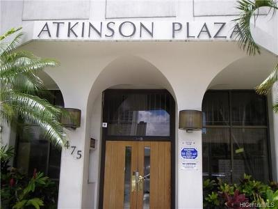 Condo/Townhouse For Sale: 475 Atkinson Drive #1603