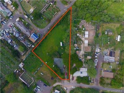 Waianae Single Family Home For Sale: 86-519 Paheehee Place