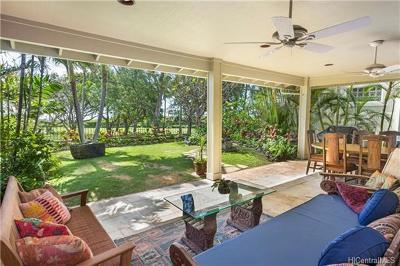 Honolulu County Single Family Home In Escrow Showing: 288 Kipukai Place