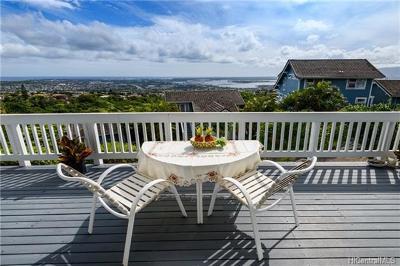 Aiea Single Family Home For Sale: 99-969 Aiea Heights Drive #E