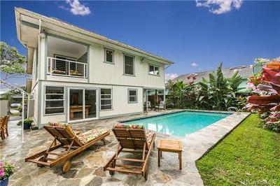 Single Family Home For Sale: 47-668 Hui Alala Street