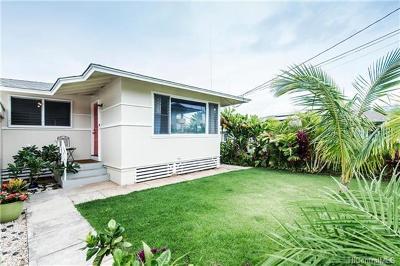 Single Family Home For Sale: 4192a Kilauea Avenue