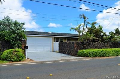 Single Family Home For Sale: 68-697 Farrington Highway