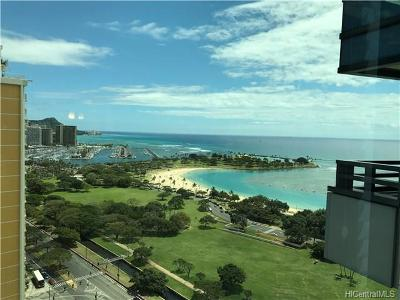 Honolulu Condo/Townhouse For Sale: 1330 Ala Moana Boulevard #2707