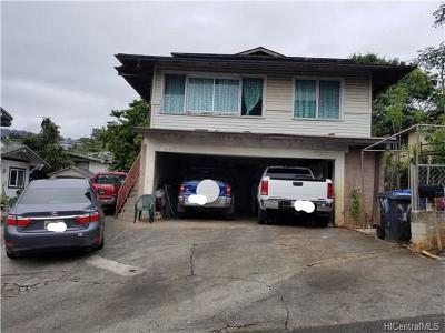 Honolulu Single Family Home For Sale: 1624 Kilohana Street