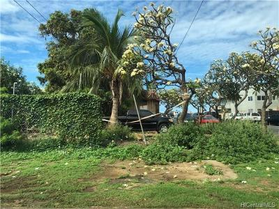 Honolulu County Residential Lots & Land In Escrow Showing: 87-2186b Farrington Highway