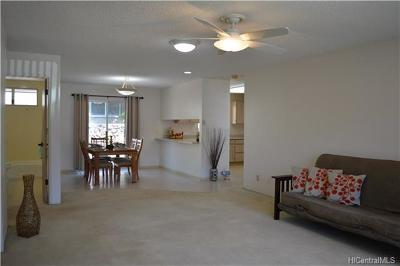 Aiea Single Family Home In Escrow Showing: 99-092 Ieie Place