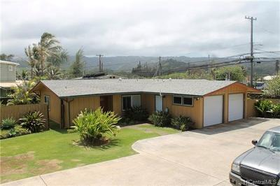 Laie Single Family Home For Sale: 55-323 #1 Kamehameha Highway #1
