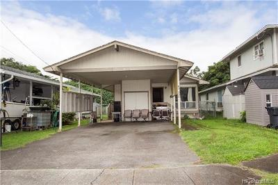 Single Family Home For Sale: 45-552 Waikalua Place