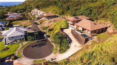 Single Family Home For Sale: 61-1034 Tutu Place