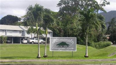 Waimanalo Condo/Townhouse In Escrow Showing: 41-715 Kamanaoio Place #41-715