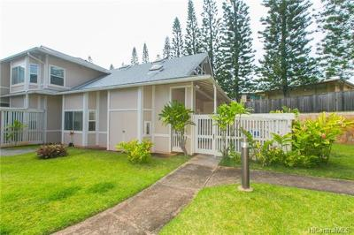 Mililani Condo/Townhouse In Escrow Showing: 95-1036h Ainamakua Drive #32