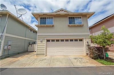 Ewa Beach Single Family Home For Sale: 91-322 Makalea Street #44