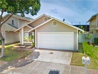 Ewa Beach Single Family Home For Sale: 91-847 Puhikani Street