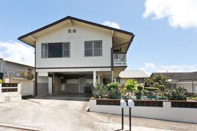 Pearl City Single Family Home For Sale: 1615 Palamoi Street