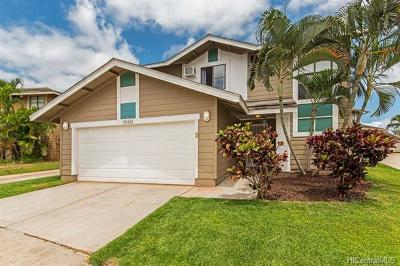 Waipahu Single Family Home In Escrow Showing: 94-222 Pouhana Loop #36