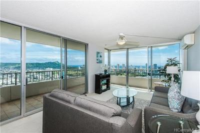 Honolulu HI Condo/Townhouse For Sale: $629,000