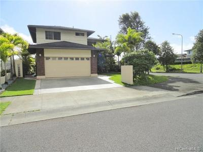 Mililani Single Family Home For Sale: 95-201 Hainole Place