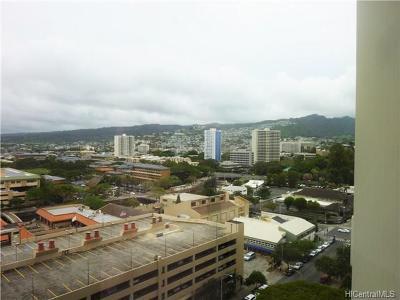 Honolulu Condo/Townhouse For Sale: 60 N Beretania Street #1403