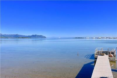 Kaneohe Single Family Home In Escrow Showing: 44-605 Kaneohe Bay Drive