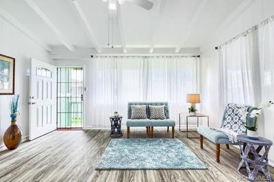 Wahiawa Single Family Home In Escrow Showing: 2202 California Avenue #A