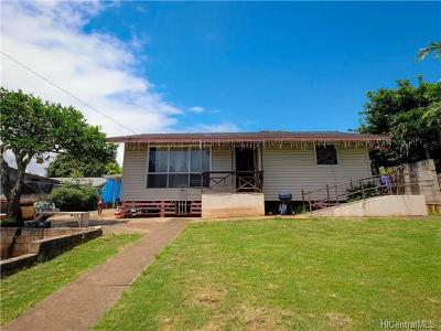 Mililani Single Family Home In Escrow Showing: 95-082 Waimakua Drive