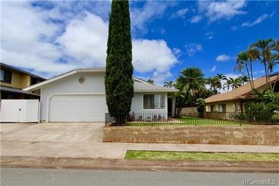 Mililani Single Family Home For Sale: 94-1014 Ahiu Place