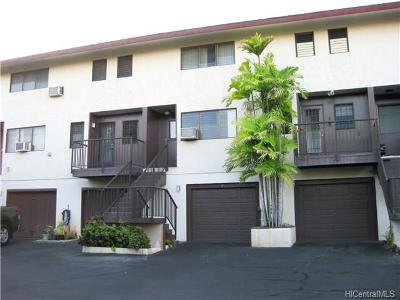 Aiea Condo/Townhouse For Sale: 98-406 Kaonohi Street #2