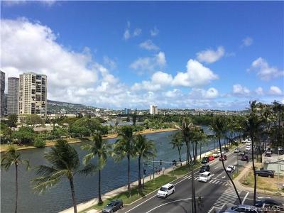 Honolulu Condo/Townhouse For Sale: 2085 Ala Wai Boulevard #B64
