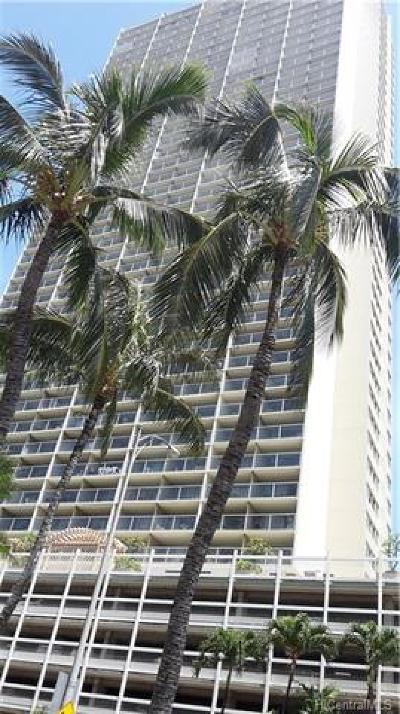 Honolulu Condo/Townhouse For Sale: 445 Seaside Avenue #1406