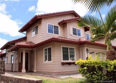 Kapolei HI Single Family Home For Sale: $890,000