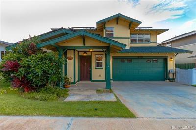 Waianae HI Single Family Home For Sale: $612,000