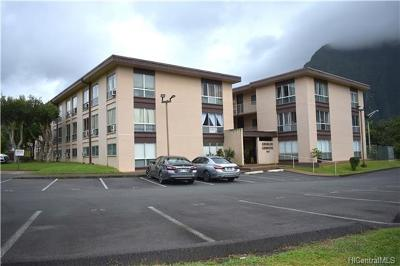 Kaneohe Condo/Townhouse For Sale: 47-420 Hui Iwa Place #A302