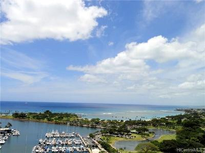 Honolulu County Condo/Townhouse For Sale: 1650 Ala Moana Boulevard #2505